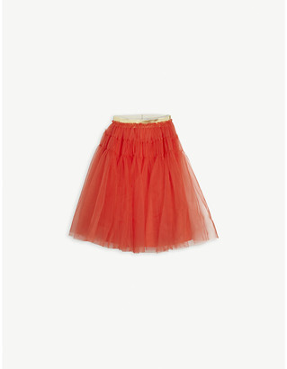 Raspberry Plum Astrid tiered tulle skirt 3-12 years