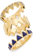 Tory Burch 'Puzzle' Stone Rings (Set of 3)