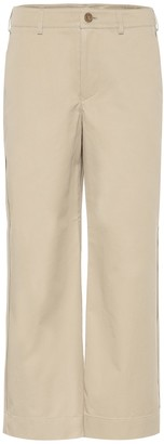 Acne Studios Cropped cotton pants
