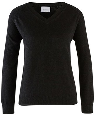ALEXANDRA GOLOVANOFF Catherine Night v-neck cashmere jumper
