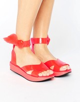 Melissa Coral Rocking Horse Sandals
