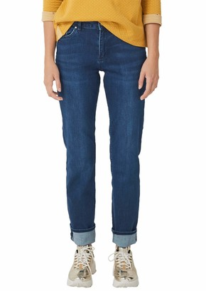S'Oliver Women's 04.899.71.5398 Straight Jeans
