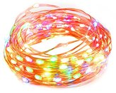 TaoTronics Multicolor Dimmable 100 LED String Lights, 33 Feet Copper Wire, Multi-color