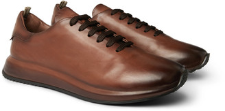 Officine Creative Race Degrade Suede Sneakers