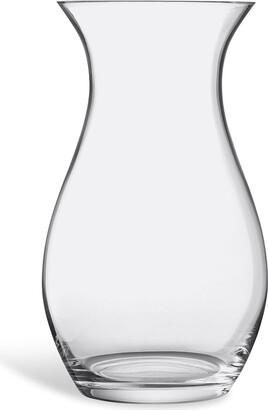 LSA International Flower Tall Posy glass vase