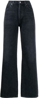 Citizens of Humanity Wide-Leg High-Rise Jeans