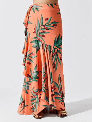 PatBO Maxi Wrap Skirt