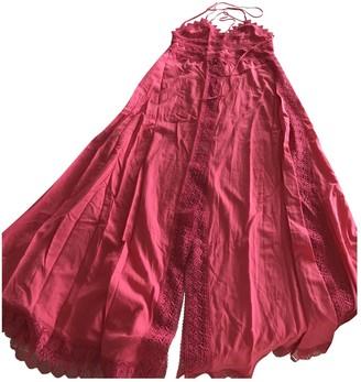 Charo Ruiz Ibiza Pink Cotton Dresses
