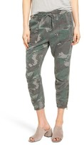 Pam & Gela Women's Camo Crop Pants