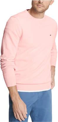 Tommy Hilfiger Men Signature Regular-Fit Solid Sweater