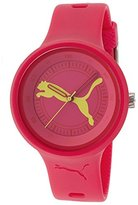 Puma Women's Active PU910682016 Red Polyurethane Quartz Watch with Dial