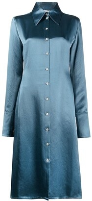 Acne Studios Fitted Shirt Dress