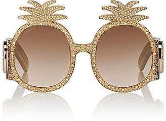 Gucci Women's GG0150S Sunglasses - Gold