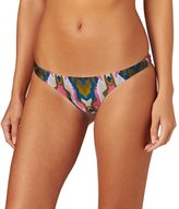 Amuse Society Everly Indy Ikat Skimpy Bikini Bottom