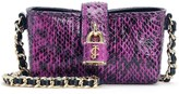 Juicy Couture Watersnake Leather Mini Crossbody