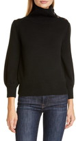 Co Button Detail Wool & Cashmere Sweater