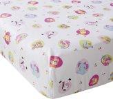 Bedtime Originals Tutti Frutti Crib Sheet, Hot Pink