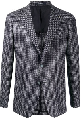 Tagliatore Knitted Single-Breasted Blazer