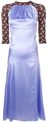 Marine Serre Moon Print Slip Dress