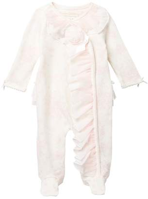 Miniclasix Footed Coverall (Baby Girls)