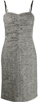 No.21 Fitted Herringbone Dress