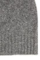 Selected Homme Grey Beanie Hat Containing Cashmere