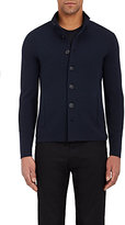 Giorgio Armani Men's Seed-Stitched Virgin Wool Cardigan