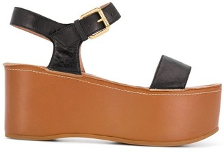 L'Autre Chose Flatform Sandals