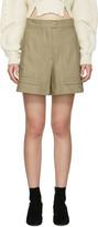 Isabel Marant Beige Trey Shorts
