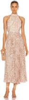 Zimmermann Sunray Picnic Dress in Sand Zebra | FWRD