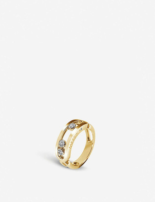Messika Move Classic 18ct gold and diamond ring