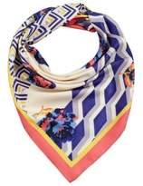 MANGO Mixed print scarf