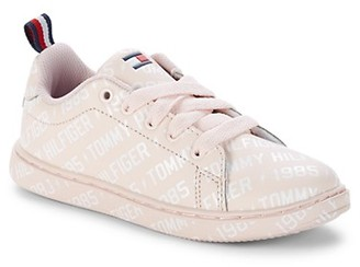 Tommy Hilfiger Girl's Logo-Print Sneakers