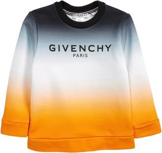 Givenchy Kids' Logo Dip Dye Sweatshirt