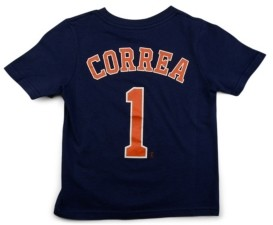 Nike Houston Astros Carlos Correa Toddler Name and Number Player T-Shirt