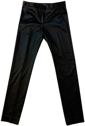 Philosophy di Alberta Ferretti Black Trousers for Women