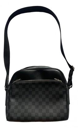 Louis Vuitton Daytona Reporter Black Cloth Bags