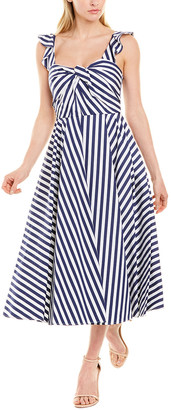 Jason Wu Collection Striped A-Line Dress