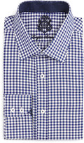 English Laundry Gingham Check Dress Shirt, Navy