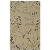 Linon Trio Rug In Beige And Pale Blue 1.10 x 2.10 - 8 x 10