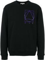 McQ Printed Crew Neck Sweater