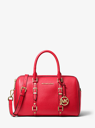 Michael Kors Bedford Legacy Medium Pebbled Leather Duffle Satchel