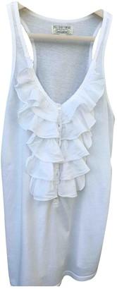 Lauren Ralph Lauren White Cotton Top for Women