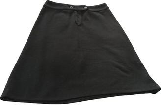 Cacharel Black Wool Skirt for Women