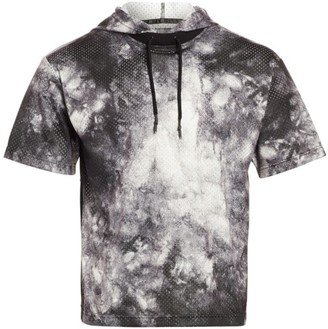 Madison Supply Mesh Tie-Dyed Hoodie