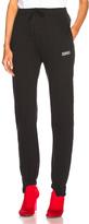 Vetements Push Up Jogging Sweatpants in Black.