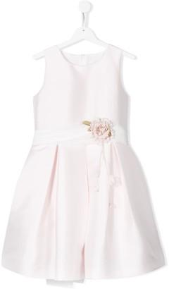 Mimilù Rose Embellished Bow Detail Dress