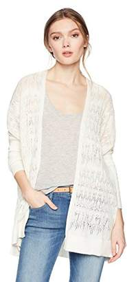 Cable Stitch Women's Oversized Lightweight Cardigan Sweater