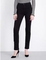 J Brand Maria straight high-rise jeans