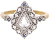 Megan Thorne Kite Shape Diamond Ring